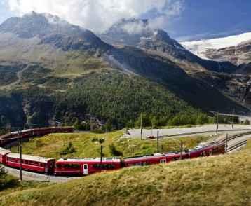 Bernina-express-in-circle