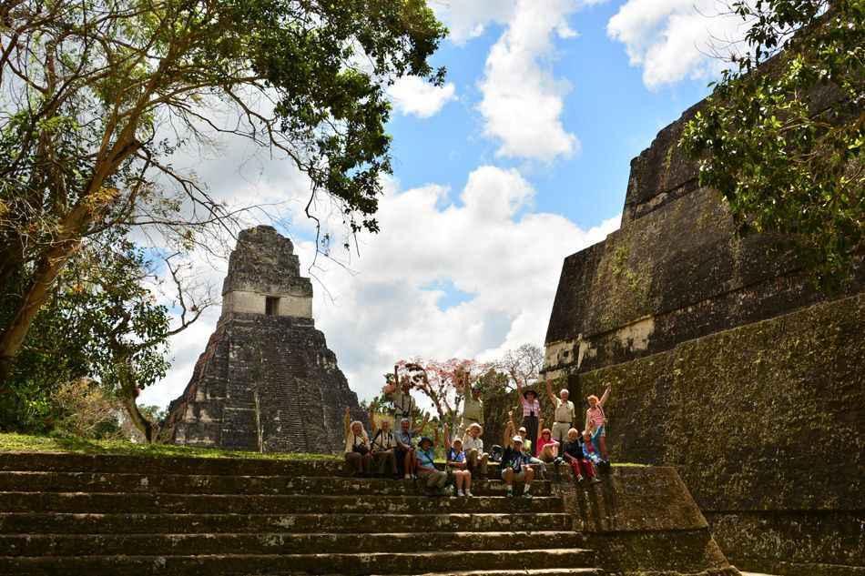 A group at Tikal