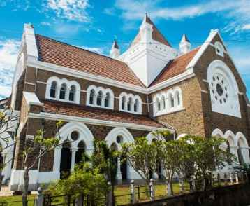 The Dutch Reformed Church of Galle building in, Sri Lanka.