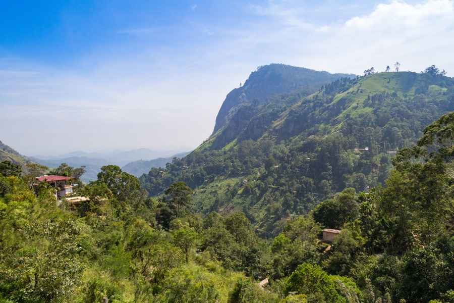 View of Ella Gap, Sri Lanka