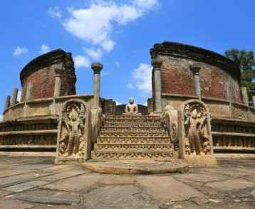 Cité médiéval de Polonnaruwa Sri Lanka 2014