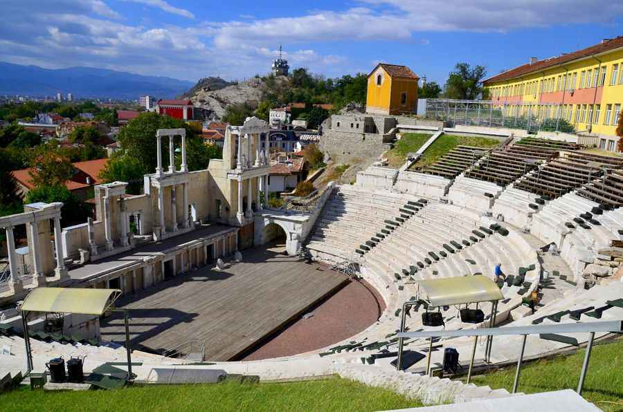 The-ancient-amphitheatre-Plovdiv-Bulgaria