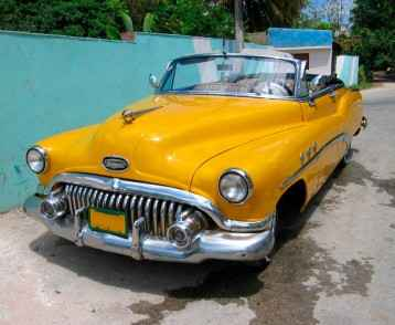 car-yellow-havana