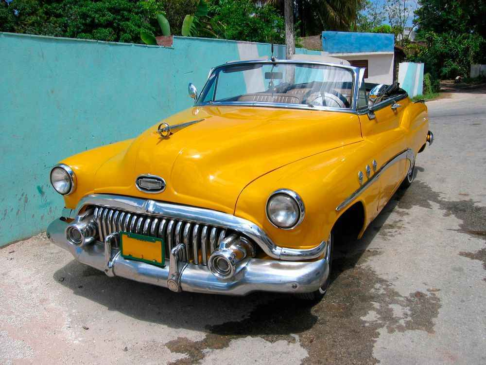 car-yellow-havana