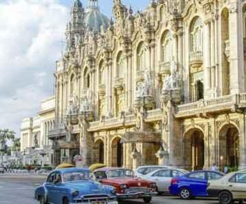 Oldtimer in Havana Cuba