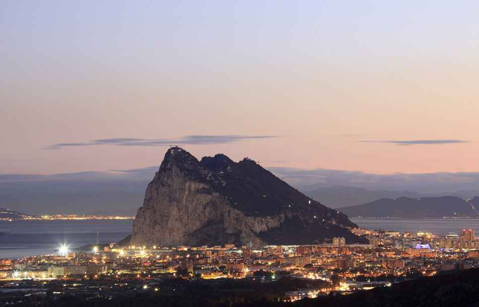 rock-of-gibraltar-sunset
