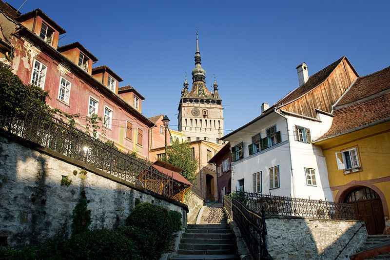 romania-sighisoara-clock-tower