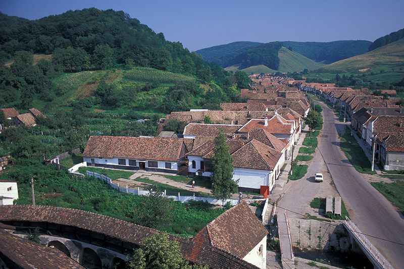 romanian-village