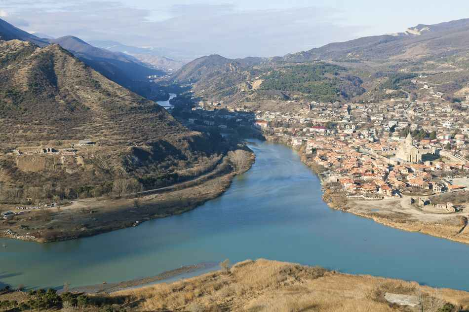 tbilisi-museum-complex-mtskheta-from-height
