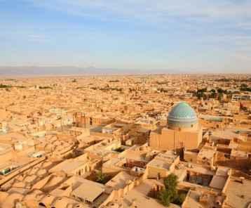 yazd-desert-city-wideview