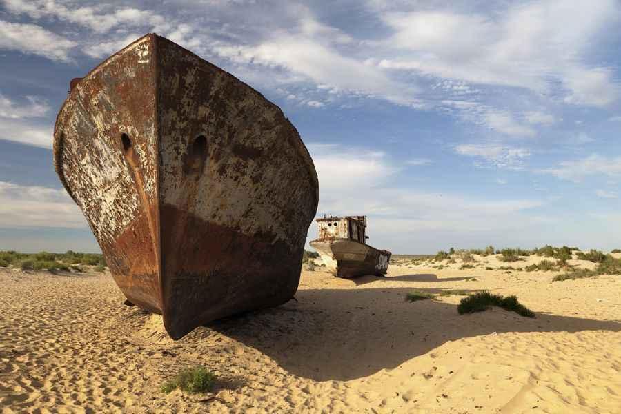 Aral Sea ships