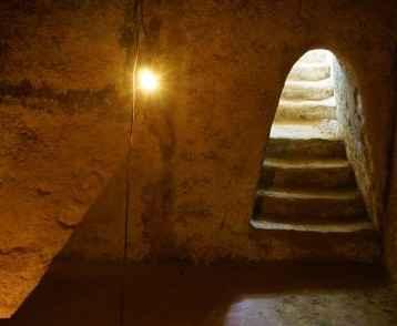 Underground room at Cu Chi tunnel