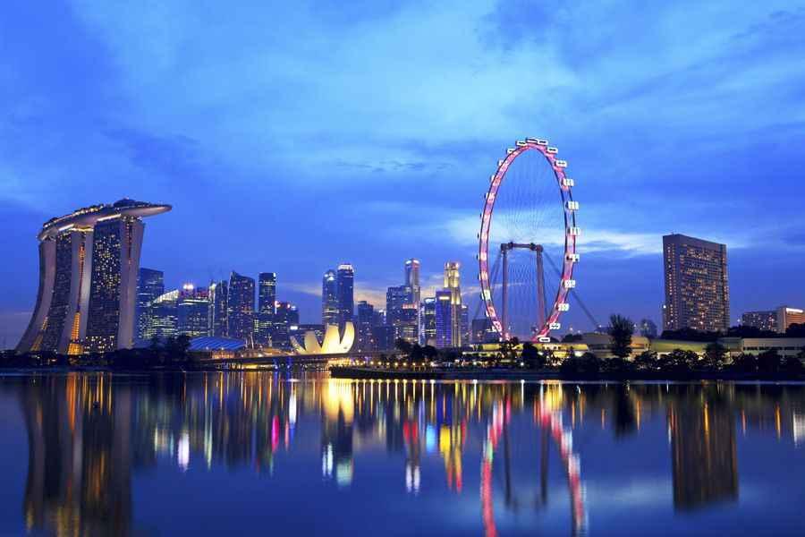 Singapore skyline 2