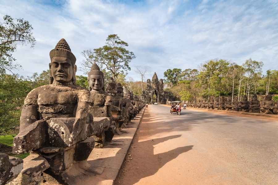 south gate siem reap