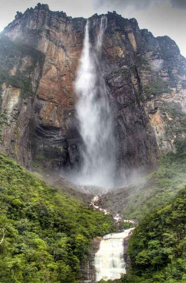 Angel Falls, Venezuela (portrait