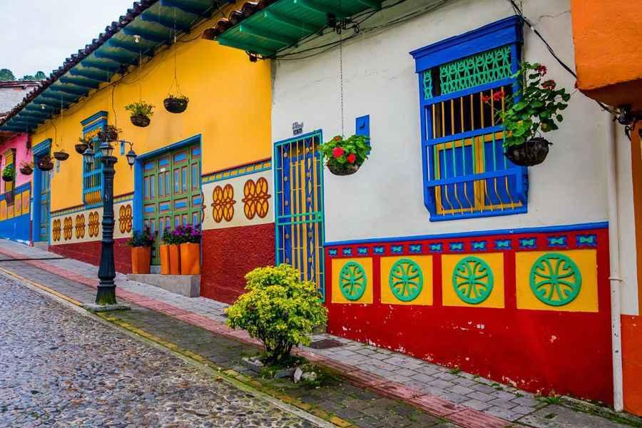 Guatape houses