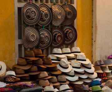 Hat stall Medellin