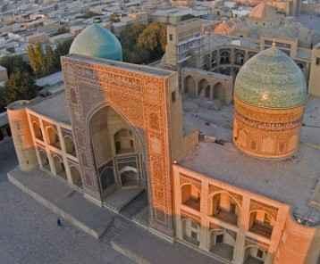 Mir-i-Arab Medressah, Bukhara-Main