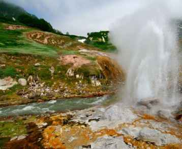 Valley of the geysers Kamchatka