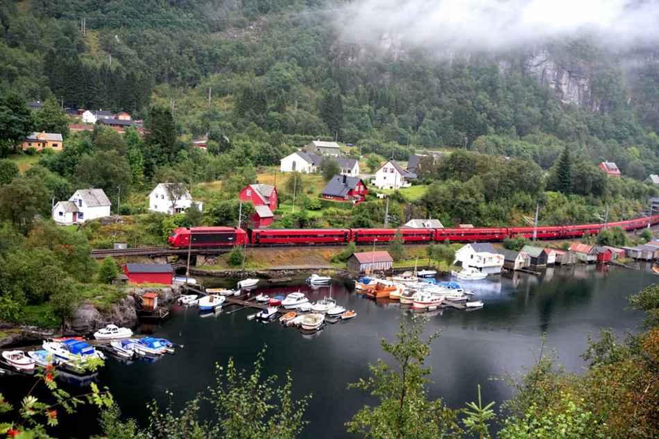 Bergen train