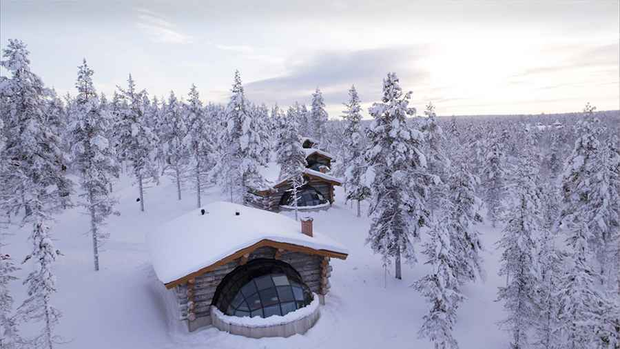 kakslauttanen kelo glass igloo-web