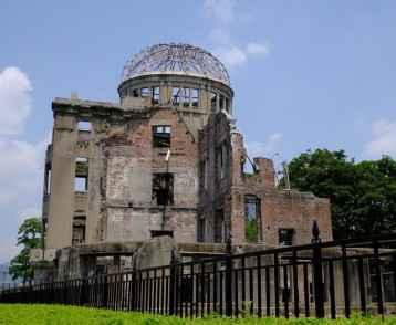 Atomic bomb dome.