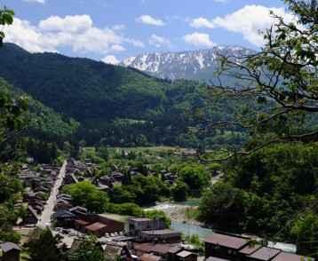 World Heritage, Shirakawa-go Metropolitan Hakusan Mt.