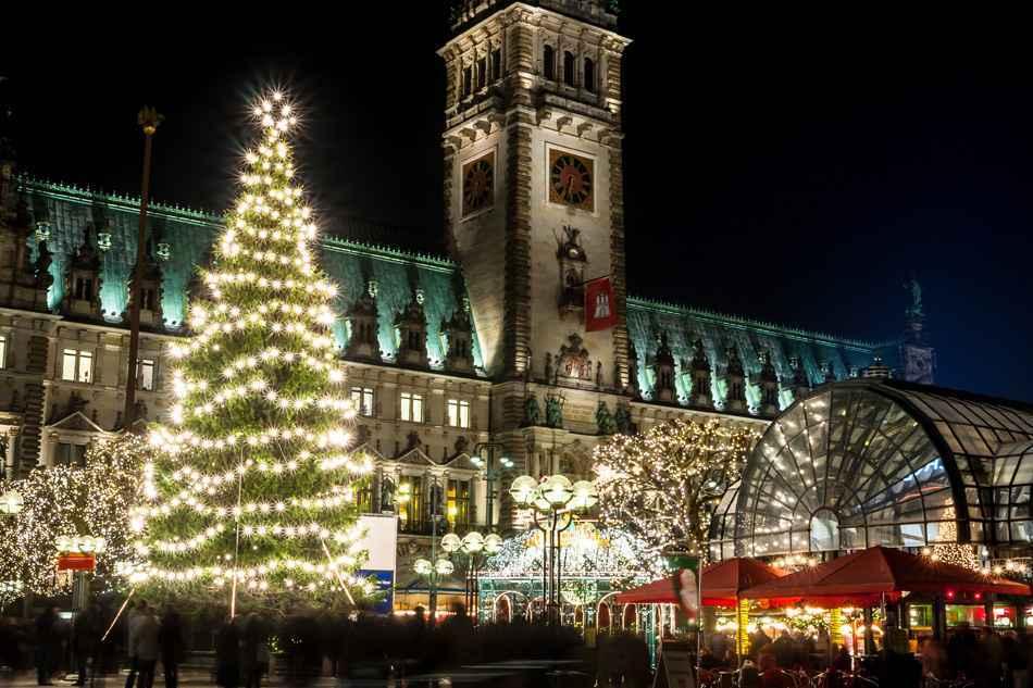 Hamburg Weihnachtsmarkt, Germany