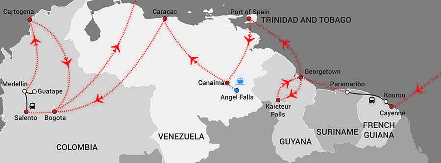 South AmericaThe Top End-web