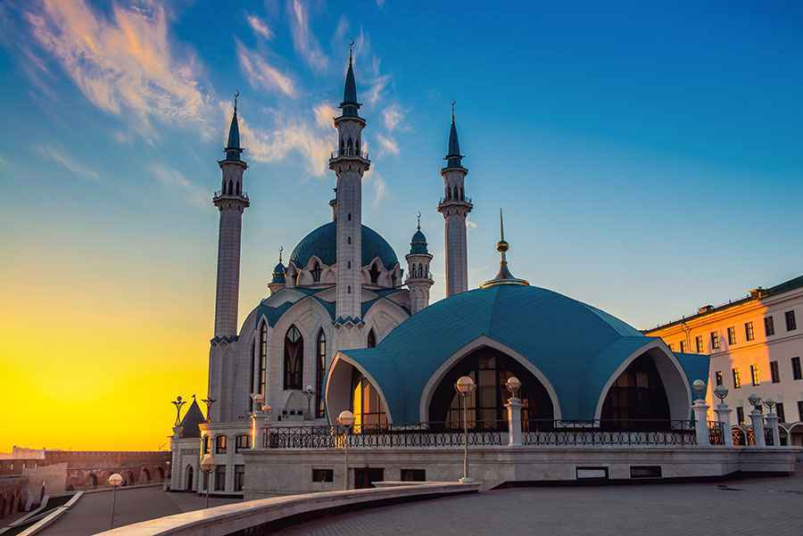 Kazan mosque-web