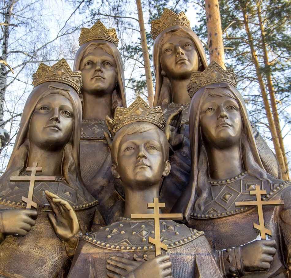 Romanov Family memorial-Ekaterinburg