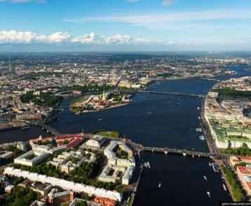 ST Petersburg aerial 3