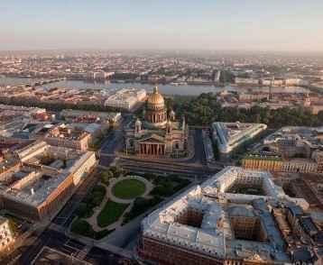 St Petersburg aerial 2