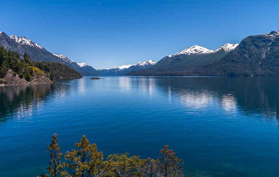 Lake near Bariloche in Argentina