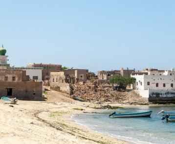 Beach of Mirbat, Salalah, Dhofar, Sultanate of Oman