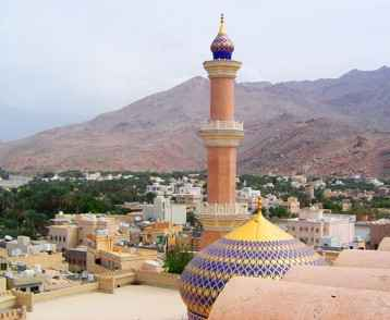 Skyline of Nizwa, Oman