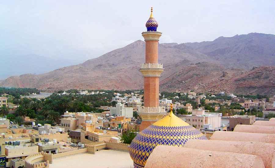 Skyline of Nizwa, Oman
