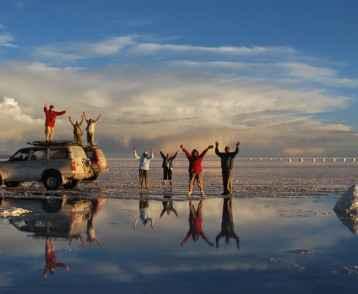Salt Flats Bolivia-4WD