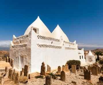 Tomb of Bin Ali, Mirbat, Salalah, Dhofar, Sultanate of Oman