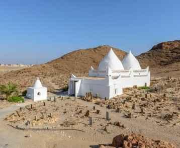 Tomb of Bin Ali in Mirbat, Dhofar region (Oman)