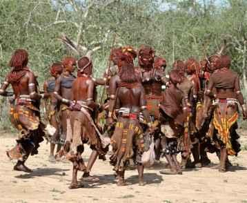Volksstamm der Hamar im Omo Valley von thiopien