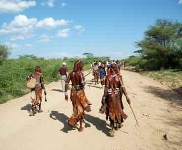 villaggio dei Turmi - Etiopia