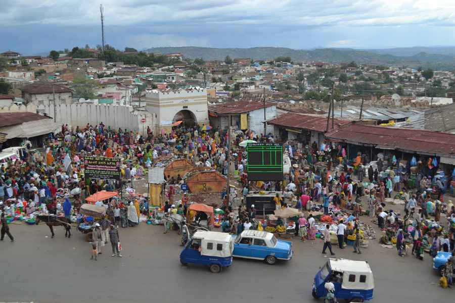 View of Harar from above