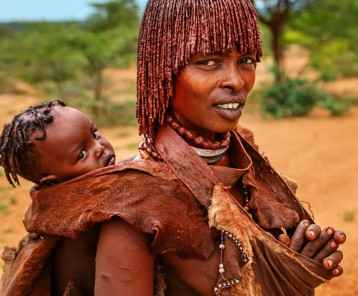 The Hamer tribe is a tribe that lives in the southwestern region of the Omo Valley near Kenya, Africa.http://bem.2be.pl/IS/ethiopia_380.jpg