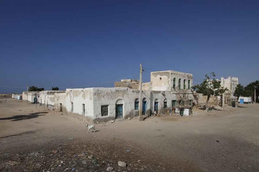 Old house in Berbera, Somaliland