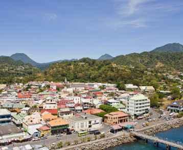 Colorful Bridgetown Barbados