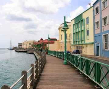 Bridgetown waterfront, Barbados
