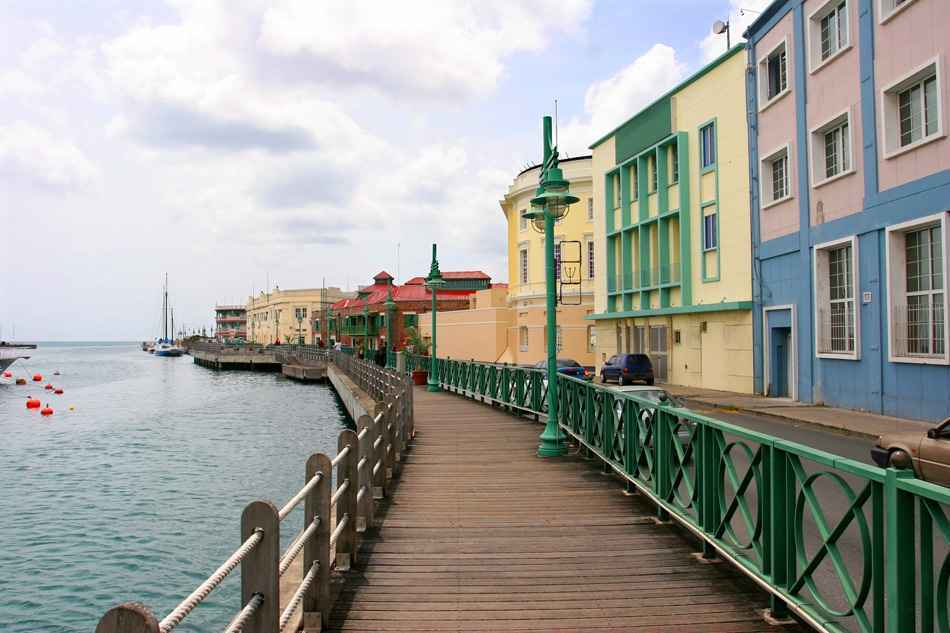 Bridgetown waterfront, Barbados