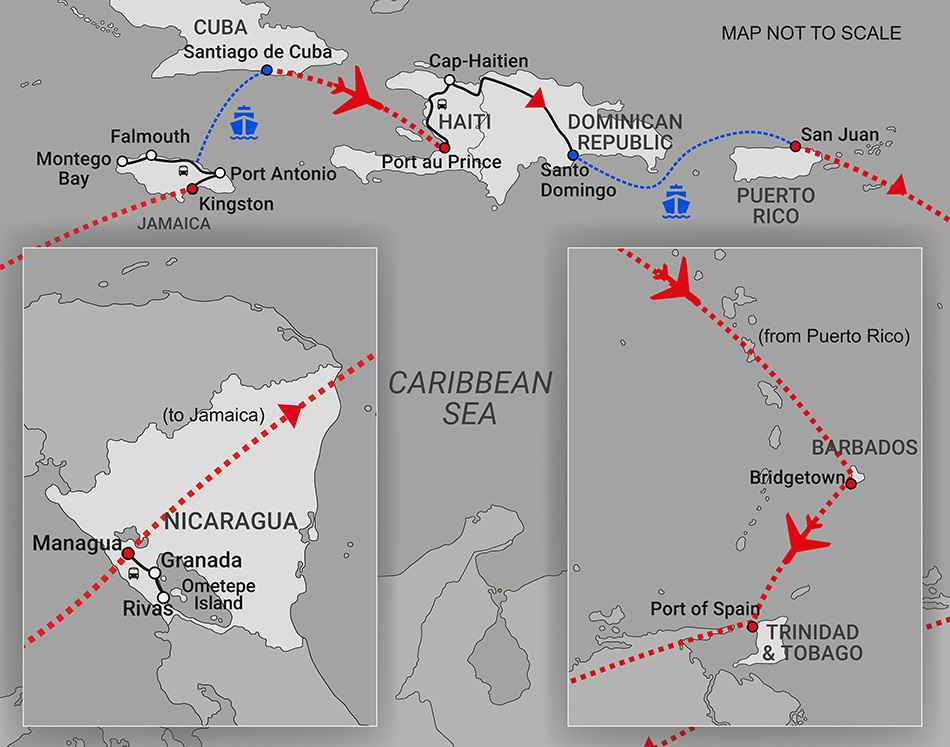 Caribbean Map (version 3)