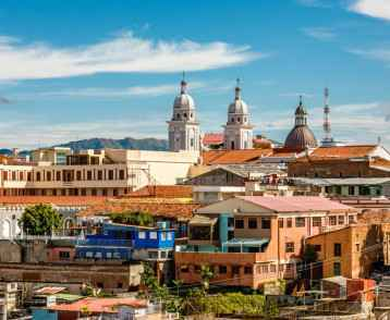 Cityscape, Santiago de Cuba